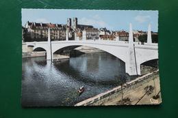 Chalon Sur Saône 571) Le Nouveau Pont Carte écrite En 1969 - Chalon Sur Saone
