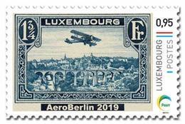 Luxemburg 2019   Aero Berlin    Airoplane  Vliegtuig                Postfris/mnh/neuf - Luxemburg