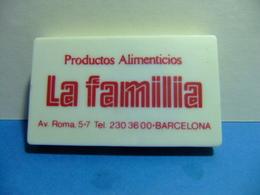 LA FAMILIA Pastas De Trigo Productos Alimenticios Metro Roto Antiguo - Otras Colecciones
