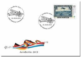 Luxemburg 2019   Aero Berlin    Airoplane  Vliegtuig       Fdc   !!                               Postfris/mnh/neuf - Luxemburg