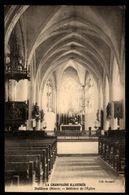 51 - BETHON (Marne) - Intérieur De L'Eglise - France