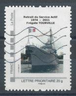 Montimbramoi Lettre Prioritaire 20g - Bateau Frégate Tourville (o) - Personnalisés (MonTimbraMoi)
