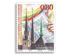Luxemburg 2019   MAITRISE CATHEDRALE NOTRE DAME                     Postfris/mnh/neuf - Luxemburg