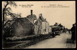 51 - BETHENY  (Marne) - La Vie Reprend Après Le Bombardement - Guerre 1914-1915 - Bétheny
