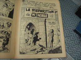 Samedi Jeunesse Tillieux Felix N° 45 La Disparition De Monsieur Noble - Samedi Jeunesse