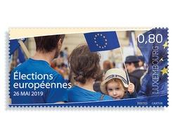 Luxemburg 2019  EUROPEAN ELECTIONS   EUROPESE VERKIEZINGEN                  Postfris/mnh/neuf - Luxemburg