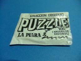 LA PIARA PATÉS BOLSA VACÍA COLECCIÓN OBSEQUIO PUZZELE - Otras Colecciones