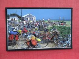 Bicycles Most Popular Means Of Transportation      Nantucket Massachusetts   Ref 3321 - Nantucket