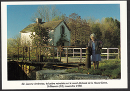 10 - ST-MESMIN - Jeanne Ambroise, éclusière - 1988 - Francia