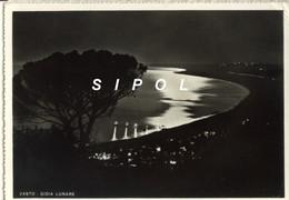 Vasto Gioia Lunare  Plage De Vasto La Nuit Voyagé En 1959 Dentelée BE - Italy