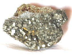 612 - PIRITE XX CUBICI - ISOLA D'ELBA Dimensioni Mm. 95x50x50 Peso Gr 630 - Minerali