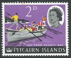Pitcairn Islands. 1964-65 QEII. 2d MH. SG 38 - Stamps