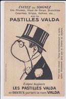 ¤¤   -  Carte à Système Publicitaire  -  Pastilles VALDA   -   Chainette   -   ¤¤ - Publicité