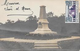 MOUROUX  ( 77 )  - Monument Aux Morts  ( CARTE - PHOTO ) - France