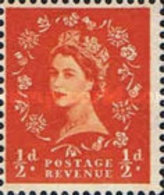 USED  STAMPS Great-Britain - Queen Elizabeth II - Phosphorescent Stamp -  1960 - Used Stamps