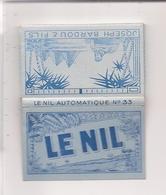 Papier Gommé  LE NIL    Automatique N° 33  Joseph Bardou & Fils Angoulême, Perpignan - Raucherutensilien (ausser Tabak)