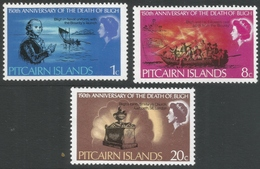 Pitcairn Islands. 1967 150th Death Anniv Of Admiral Bligh. MH Complete Set. SG 82-84 - Stamps