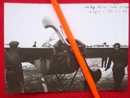 FOTOGRAFIA AEREO MACCHI NIEUPORT 10000 Con Elica Neri 1° Tipo - Aviazione