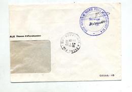 Fragment Lettre Dispense Cachet Pointe à Pitre - Marcophilie (Lettres)