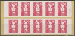 2807 C 1 BRIAT TVP SAGEM - DATE HAUTE 03.05.93 - Postzegelboekjes