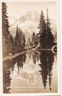 Cartes 1930 Mountains In Mirror Lake ,Rainier National Park - Etats-Unis