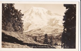 Cartes 1930 Mountain From Tatoosh Range Et Narada Falls ,Rainier National Park - Etats-Unis