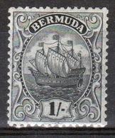 Bermuda 1/- Stamp From The 1910 Definitive Set. - Bermuda