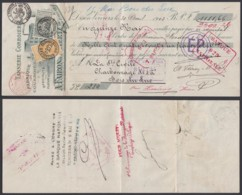 Belgique - COB 63+65 Sur Reçu De Dison Verviers 30/04/1903  (DD) DC2927 - 1893-1900 Barba Corta