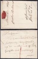 Belgique - Lettre Datée De Mechelen Vers Antwerpen  18/1/1694 Port 1 Sou à La Croix Rouge (DD) DC2951 - 1621-1713 (Paesi Bassi Spagnoli)