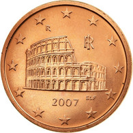 Italie, 5 Euro Cent, 2007, SUP, Copper Plated Steel, KM:212 - Italie