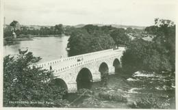 Falkenberg 1955 (Hallands Län); Bron (Bridge) Over Ätran - Circulated. (Pressbyrån) - Zweden