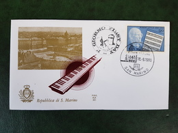 (35448) F.D.C. SAN MARINO  1980 - FDC