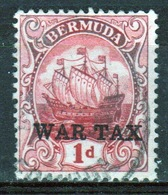Bermuda 1d War Tax Stamp From The 1920 Series. - Bermuda