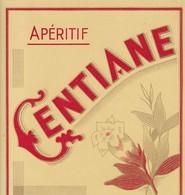 APERITIF GENTIANE - Labels