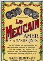 ALBI / BLANCHET / LE MEXICAIN / AMER AUX MANDARINES / TRES BELLE - Etiquettes