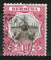 Bermuda 1d Single Stamp From The 1902 Dry Dock Definitive Set. - Bermuda