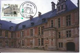 MTAM 30 Ans Du Musée De Sens Palais Des Archevêques, Cour Intérieure - France