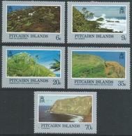 Pitcairn Islands. 1981 Landscapes. MH Complete Set. SG 211-215 - Stamps