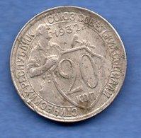 Russie -  20 Kopeks  1932  -  état  TB+ - Russia