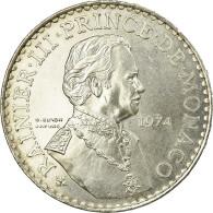 Monnaie, Monaco, Rainier III, 50 Francs, 1974, SUP, Argent, Gadoury:MC162 - 1960-2001 New Francs