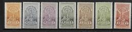 1930 - ETHIOPIE - YVERT N° 181/187 ** - COTE = 12 EUR. - Ethiopie