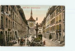 LOT De 7 CPA - BERN : Vues Diverses - 7  Scans - BE Berne