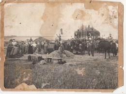 """UKRAINE. #1791 A PHOTO. """"KOLKHOZ, TRACTOR, ACCOUNTS, CROP CROP. SAD AND TIRED PERSONS OF PEOPLE. *** - Film Projectors"""
