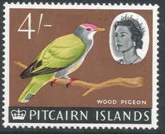 Pitcairn Islands. 1964-65 QEII. 4/- MH. SG 47 - Stamps