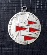 Rowing Medal FRUH JAHRS - REGATTA BAM BERG 1964  PLIM - Remo