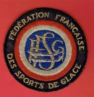 ECUSSON BRODE FEDERATION FRANCAISE DES SPORTS DE GLACE FFSG - Invierno