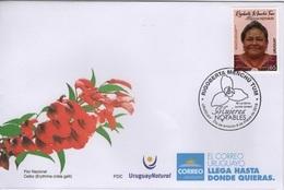 Uruguay (2019) - FDC -  /  Nobel Prize - Rigoberta Menchu - Nobelprijs