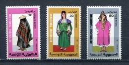 TUNISIA 1987 Scott # 926 - 928 Mi # 1157 - 1159 MNH - Tunisia