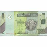 TWN - CONGO DEM. REP. 101b - 1000 1.000 Francs 30.6.2013 Q-N UNC - Congo