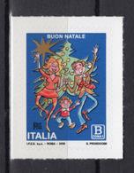 2018 -  Italia - Santo Natale -soggetto Laico- -  Mint - MNH - 1946-.. République
